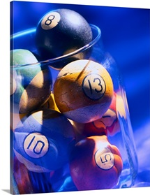Billiard Balls in Jar