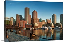 Boston skyline, Massachusetts