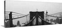 Brooklyn Bridge, New York City, Manhattan.