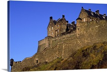 Castle, Edinburgh, Lothian, Scotland.