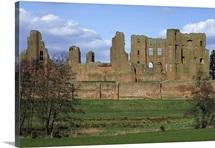 Castle, Kenilworth, Warwickshire, England.