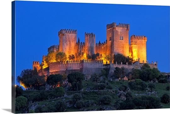 Castle Of Almodovar Del Rio Almodovar Del Rio Cordoba