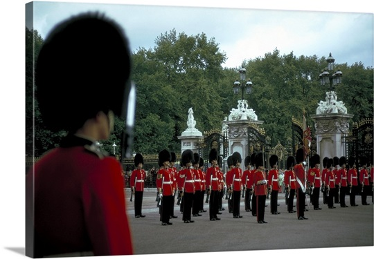 Changing the Guard, St James's, London, England.