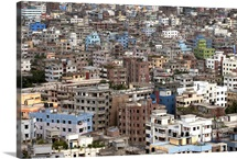 City view of Dhaka, Bangladesh.