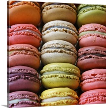Colorful Macaroons.
