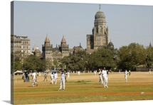 Cricket match, Mumbai, India