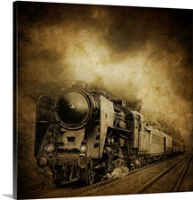 dark locomotive