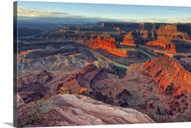 Dead Horse Point, Winter Sunrise, Utah.
