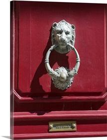 Decorative door knocker