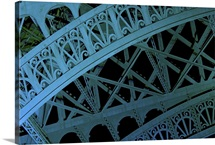 Detail of the Eiffel Tower