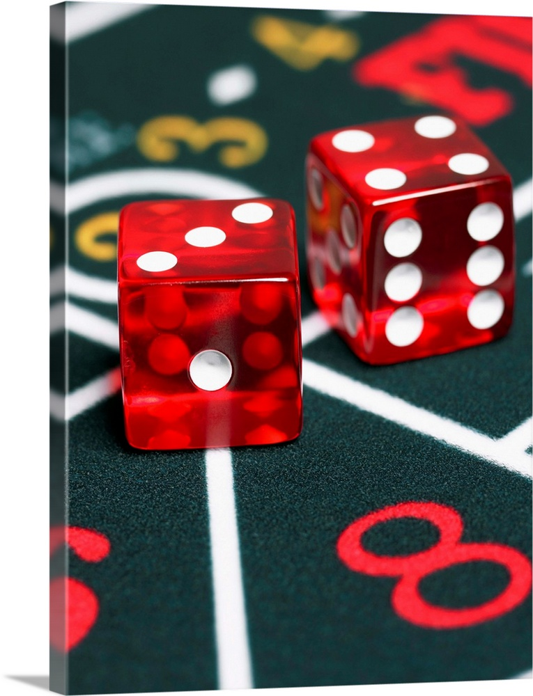 Two fours in craps
