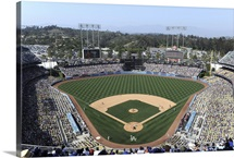 Dodger Stadium, home of the Los Angeles Dodgers, on April 29, 2012