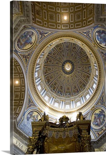 Dome, Saint Peter's Basilica, Vatican City