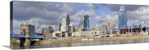Downtown skyline, Cincinnati, Ohio
