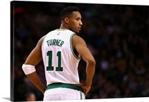 Evan Turner of the Boston Celtics