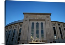 Exterior of Yankee Stadium in New York City