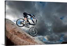 Extreme Mountain Biker
