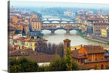 Florence, birthplace of Renaissance and masterpieces of art.