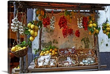 Fruit Stand, Sorrento, Campania, Italy
