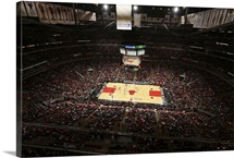 Game between the Orlando Magic and the Chicago Bulls