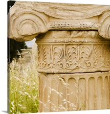Greece, Athens, Acropolis, Corinthian column ruin