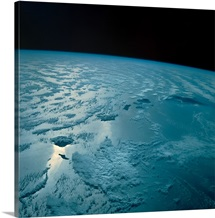 Hawaiian Islands as seen from the Space Shuttle