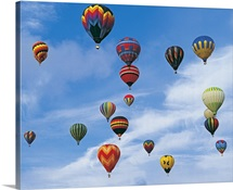 Hot air balloon regatta