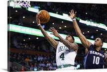 Isaiah Thomas of the Boston Celtics takes a shot