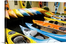Kayaks,  Dennisport, Massachusetts, New England