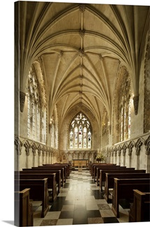 Lady Chapel located at east end of St Albans Cathedral