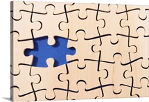 Missing puzzle piece