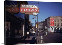 Nathan's Loans, Beale Street, Memphis, Tennessee