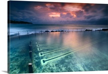 Ocean baths at Bronte Beach, Sydney, Australia.