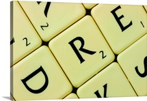 Pieces in word puzzle game