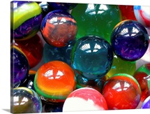Pile of marbles