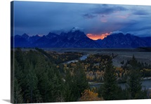 Sanke River and Teton Range