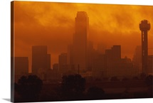 Smog in the City, Dallas, Texas