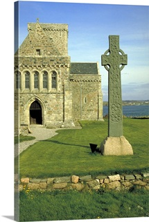 St Martin's cross, also called the celtic cross, byiona abbey, Strathclyde, Scotland.