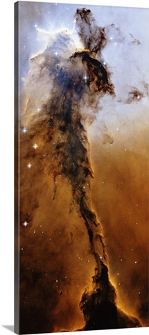 Stellar Spire region of Eagle Nebula star formation