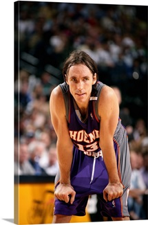 Steve Nash 13 of the Phoenix Suns during the 2005 NBA Playoffs