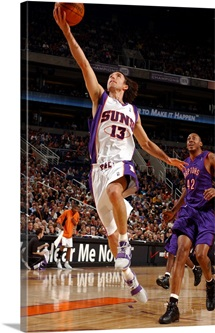 Steve Nash 13 of the Phoenix Suns shoots against the Toronto Raptors