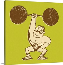 Strongman Lifting Barbell