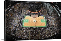 TD Banknorth Garden as the Boston Celtics face the Detroit Pistons