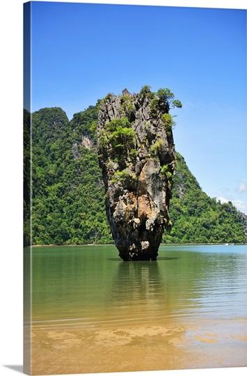 Thailand Floating Island Photo Canvas Print Great Big