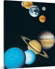 The Planets, excluding Pluto