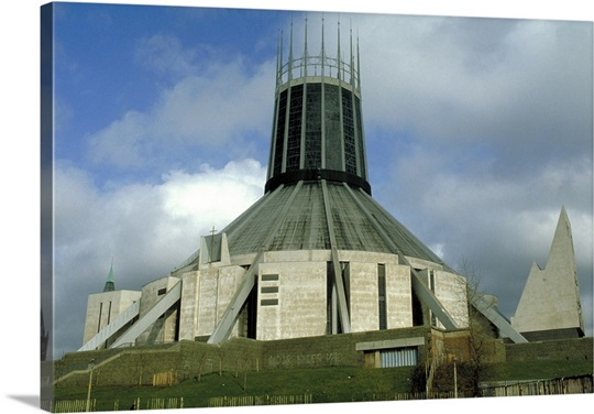 The Roman Catholic Cathedral, Liverpool, Merseyside, England.
