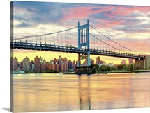 Triboro Bridge taken from Astoria Queens NYC