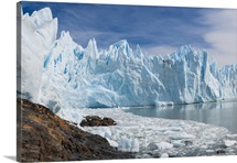 Upsala Glacier is large valley glacier in Argentinas Los Glaciares National Park.