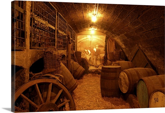 Vaults in the Rum Story attraction at Whitehaven