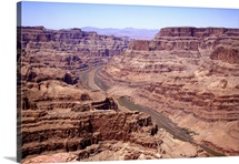 View of the Grand Canyon, Arizona, U.S.A. Near Las Vegas